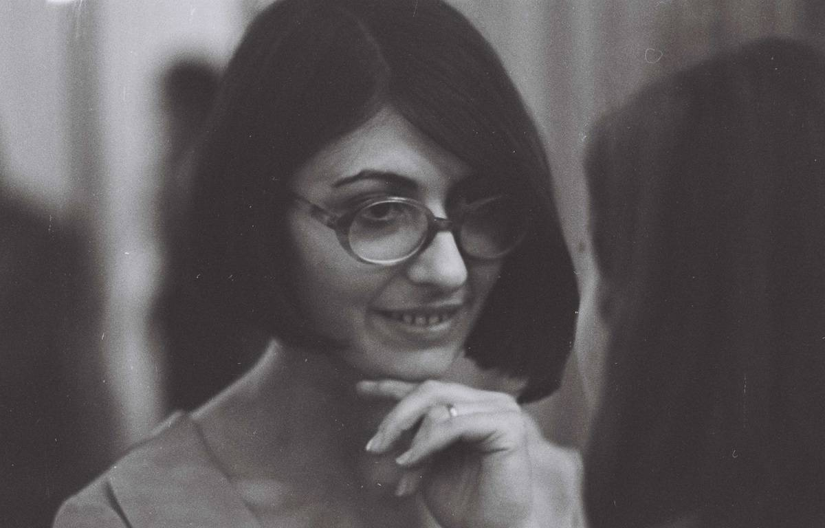 Emmanuelle Khanh en 1963 – DALMAS/SIPA