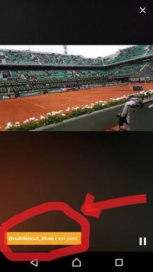 NuitDebout à Roland-Garros