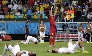 Le Belge Witsel après sa qualification sur les Etats-Unis en huitièmes de finale