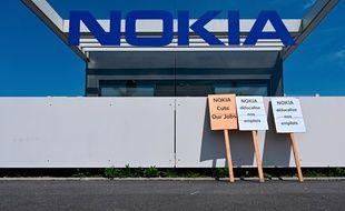 Le site Nokia de Lannion, où 402 suppressions de postes sont annoncées.