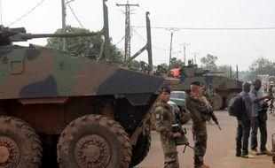 Des soldats français, le 13 mars 2015 à Bangui