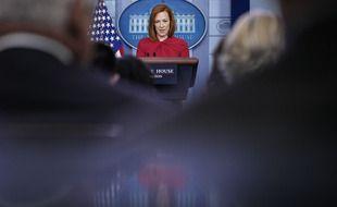 Jen Psaki, porte-parole de l'administration Biden, le 19 juillet 2021.