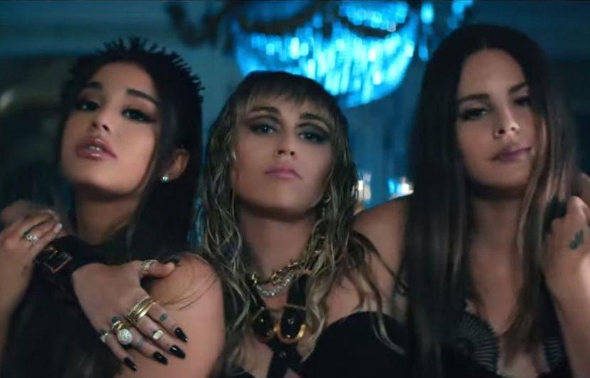 Ariana Grande, Miley Cyrus et Lana Del Rey, trio badass de « Don't Call Me Angel »