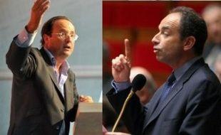 François Hollande et Jean-François Copé.