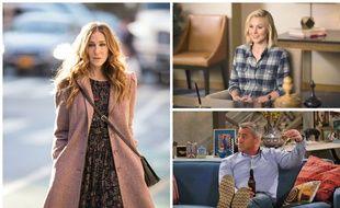 Sarah Jessica Parker dans «Divorce», Kristen Bell dans «The Good Place» et Matt LeBlanc dans «Man With a Plan»