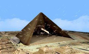 Le palais des Beaux arts de Lille expose la mission ScanPyramids.