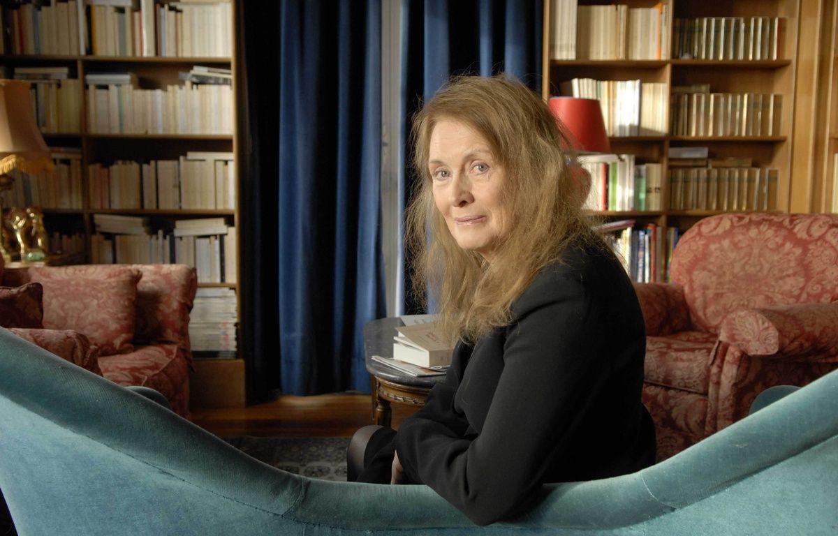 L'auteure française Annie Ernaux, chez elle à Cergy le 14 janvier 2008. – ANDERSEN ULF/SIPA