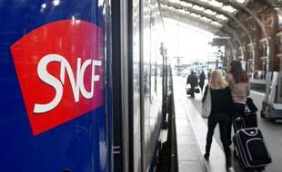 Illustration SNCF en gare de Lille Flandres.