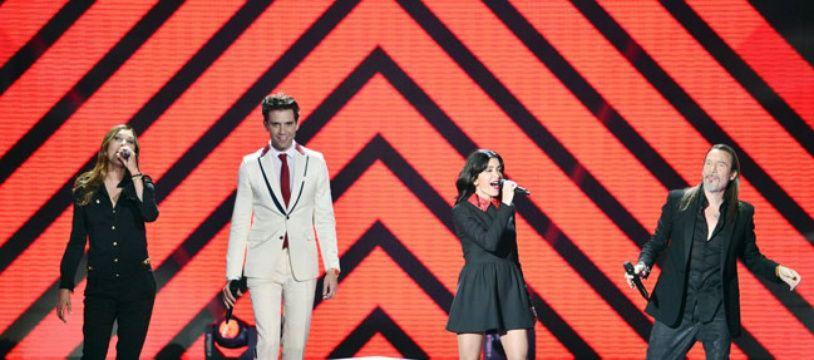 Les coachs de la saison 4 de «The Voice» sur TF1: Zazie, Mika, Jenifer et Florent Pagny.