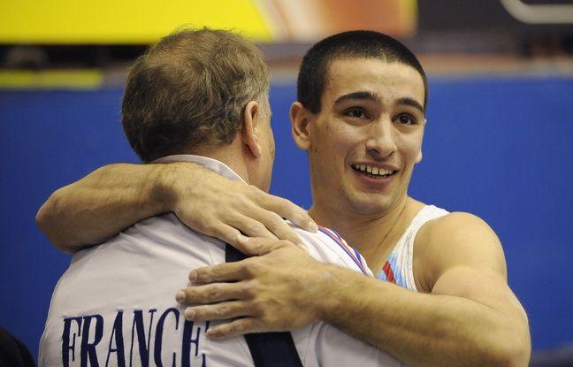 Yann Cucherat savoure ici un sacre aux championnats d'Europe, en avril 2009 près de Milan (Italie).
