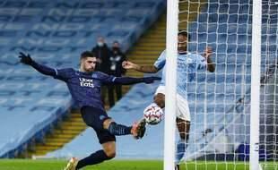 L'OM, a l'image de sa saison en Ligue des champions, a encaissé un but malheureux en fin de match contre City.