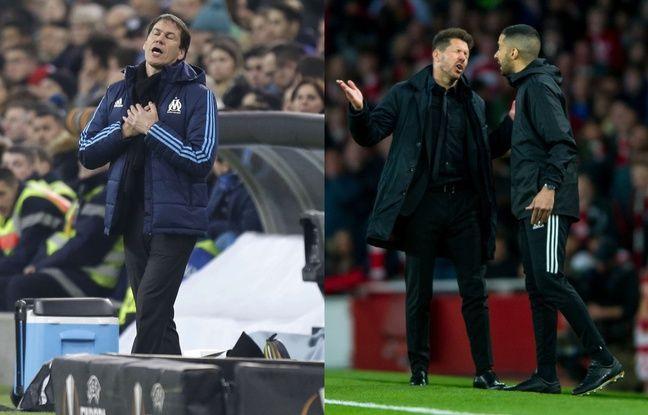 OM-Atlético: «Petites gueulantes» et grosses colères... Rudi Garcia est-il en train de devenir un Diego Simeone bis?