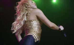 La chanteuse Shakira en concert le 7 juin 2011 à Genève en Suisse