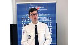 Antoine Mordacq, chef de la division de lutte contre le hooliganisme.