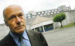 Alain Rousset hier à la prison de Gradignan