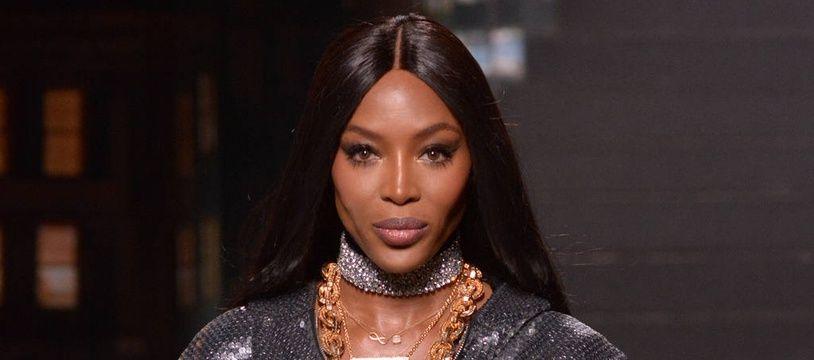 La top-modèle Naomi Campbell