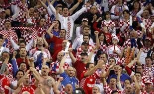 Les supporters croates, lors du championnat du monde de handball, le 30 janvier 2009.
