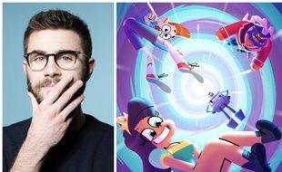 Cyprien Iov est le créateur, doubleur et producteur de la série animée « L'Epopée temporelle », en exclusivité sur Adult Swim