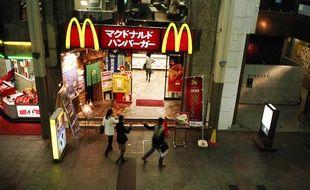 Un restaurant McDonald's à Tokyo.