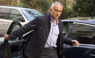 José Mourinho à Londres le 6 janvier 2016.
