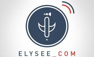 Le logo du compte Twitter @Elysee_com représente le «faiseau licteur» républicain stylisé.