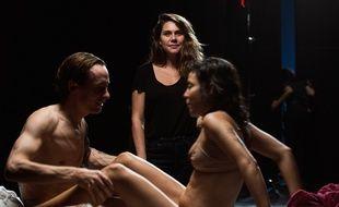 Erika Lust sur le tournage d'un de ses films X