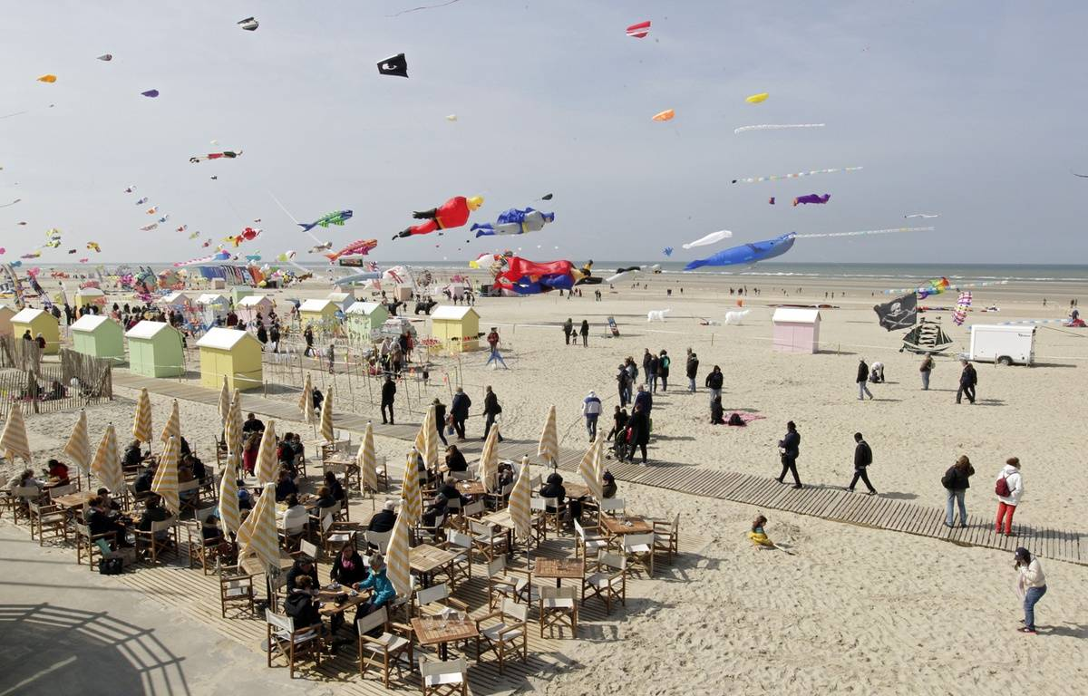 Rencontres internationales de cerfs-volants de berck-sur-mer 2016
