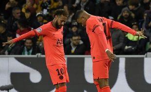 Neymar et Mbappé ont encore frappé face à Saint-Etienne.