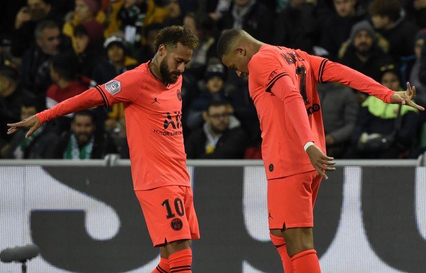 Ligue 1 : Revivez la démonstration parisienne à Saint-Etienne avec un doublé de Mbappé (0-4)