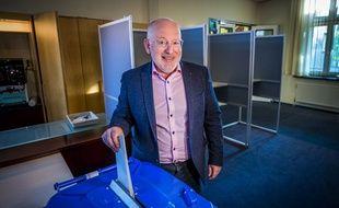 Frans Timmermans, vice-président de l'actuelle Comission européenne, leader des travaillistes aux Pays-Bas.