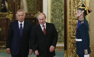 Le président ouzbek Islam Karimov est venu chercher lundi à Moscou le soutien de la Russie face à la montée de l'extrémisme en Asie centrale, son premier déplacement à l'étranger depuis des rumeurs répandues par l'opposition en exil sur son état de santé.