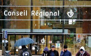 Le Conseil Régional du Nord-Pas-de-Calais à Lille le 16 janvier 2014