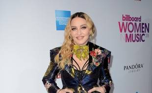 Madonna à l'événement Billboard Women In Music.