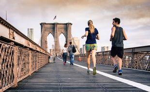 Passé une période de douleur, des hormones de bien-être sont libérées dans le corps des coureurs.