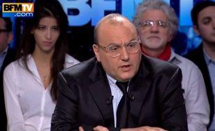 Julien Dray sur BFMTV le 17 janvier 2016.