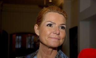 Inger Støjberg, ministre danoise de l'Immigration et de l'Intégration.