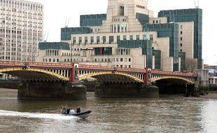 Les quartiers du MI5 à Londres, sur les bords de la Tamise.