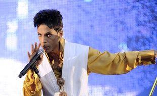 Prince en concert à Paris, le 30 juin 2011.
