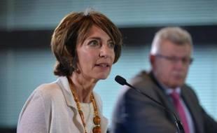 La ministre de la Santé Marisol Touraine à Paris le 24 septembre 2015