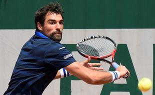 Jérémy Chardy à Roland-Garros.