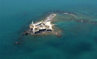 Le fort de Brescou, au large du Cap d'Agde
