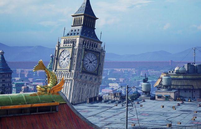 Des décors inspirés du monde réel où se retrouvent propulsés ces personnages de mangas.