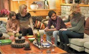 Julie Depardieu et Alexandra Lamy, deux femmes apparemment amies.