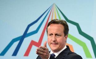 Le Premier ministre David Cameron au sommet du G7 près de Garmisch-Partenkirchen, le 8 juin 2015