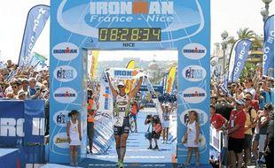Une précédente édition de l'IronMan de Nice
