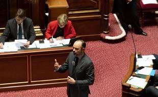Edouard Philippe au Sénat (archives)