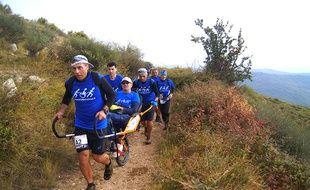 Trail pour tous a déjà accompagné plus de 25 personnes handicapées sur des courses.
