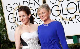 Les présentatrices principales des 78e Golden Globes Tina Fey et Amy Poehler
