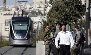 La police israélienne monte la garde à Jérusalem-Est, le 6 novembre 2014 (photo illustration).