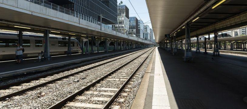 La gare d'Austerlitz, à Paris (Illustration).